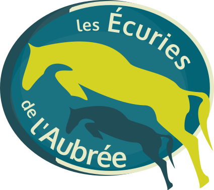 Logo des écuries de l'Aubrée